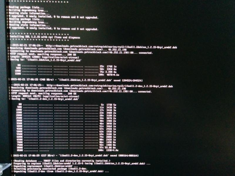 Binaries installing