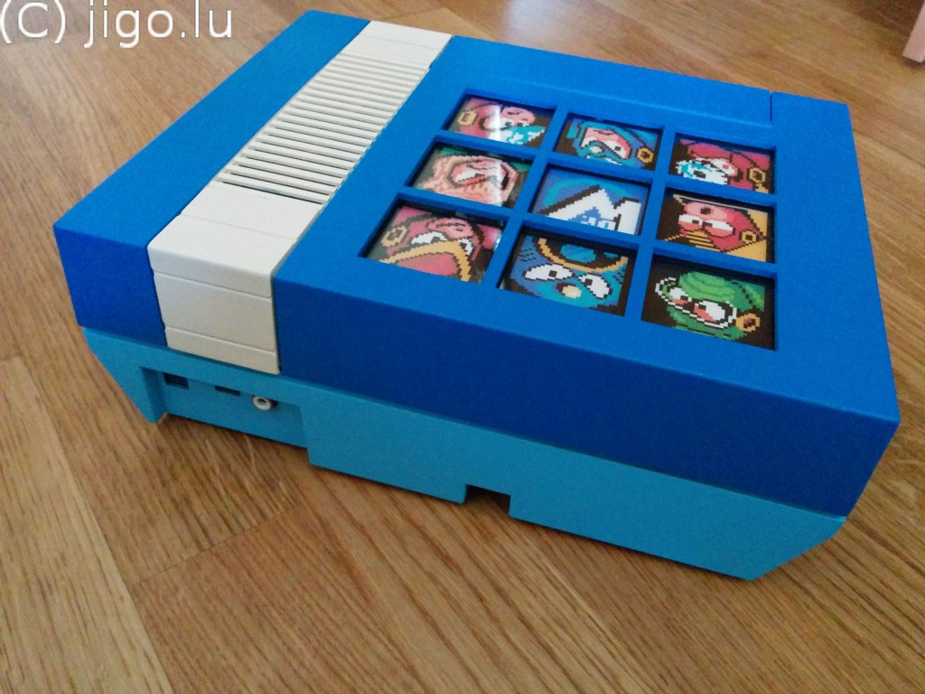 Mega Man 2 NES by Jigo
